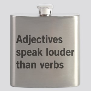 adjectives speak louder than words Flask