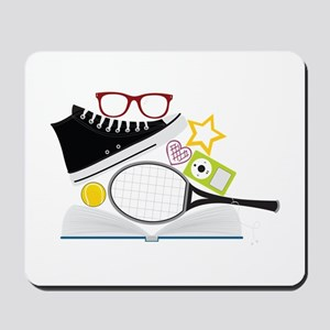 Yearbook Montage Mousepad