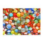 Vintage Colorful Marbles 5'x7'area Rug