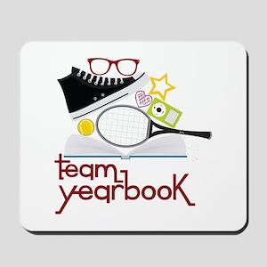 Team Yearbook Mousepad