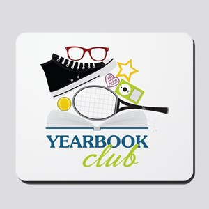 Yearbook Club Mousepad