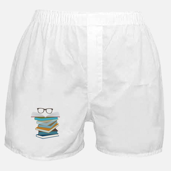 Stack Of Books Boxer Shorts