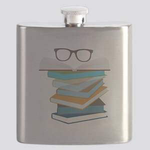 Stack Of Books Flask