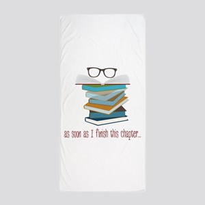 This Chapter Beach Towel