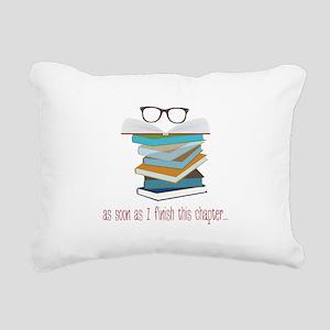 This Chapter Rectangular Canvas Pillow