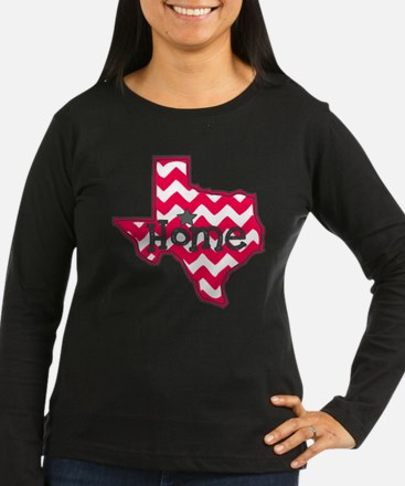 Texas Home Chevron Tee Long Sleeve T-Shirt