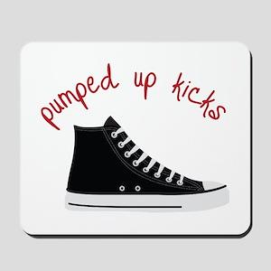 Pumped Up Kicks Mousepad