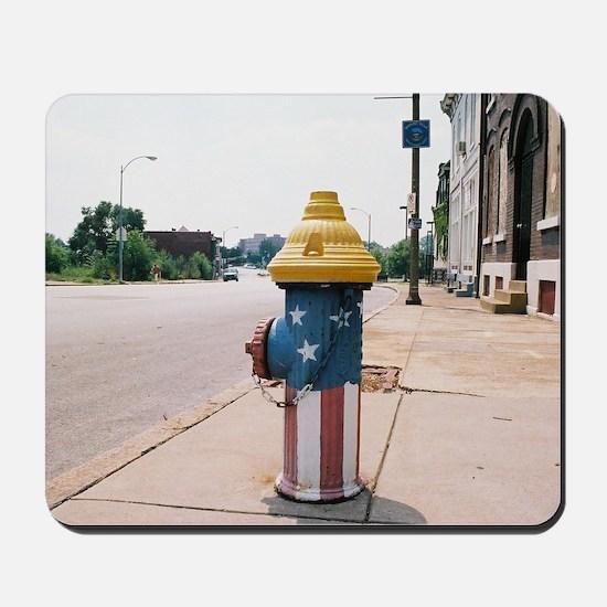 Broadway fire hydrant -STL Mousepad