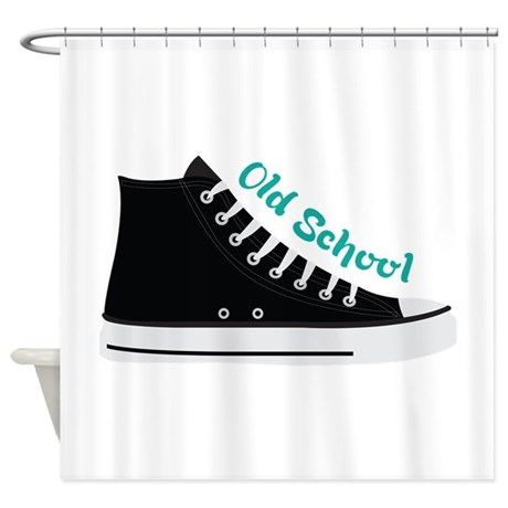Old School Shower Curtain by concord17