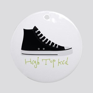 High Top Kid Ornament (Round)