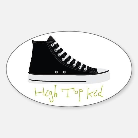 High Top Kid Decal