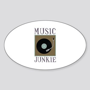 Music Junkie Sticker