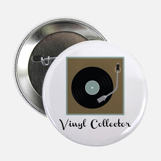 "Vinyl Collector 2.25"" Button"