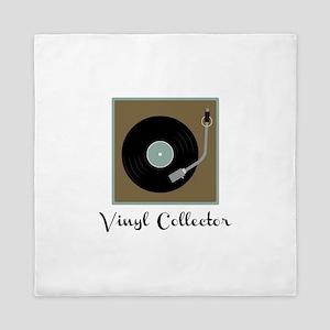 Vinyl Collector Queen Duvet