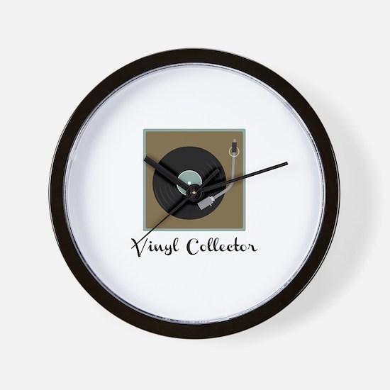 Vinyl Collector Wall Clock