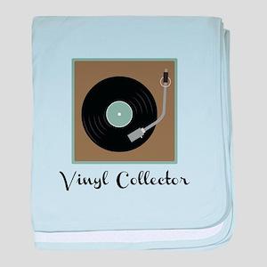 Vinyl Collector baby blanket