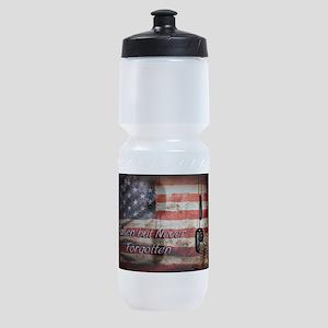 Fallen but never forgotten Sports Bottle