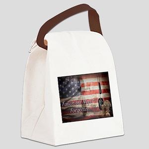 Fallen but never forgotten Canvas Lunch Bag