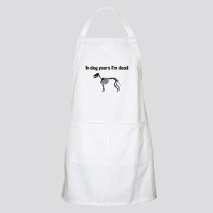 In Dog Years Im Dead Apron