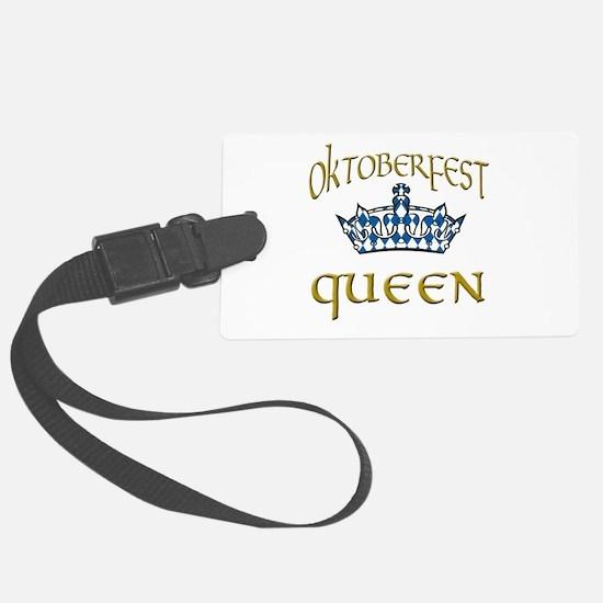Oktoberfest Queen Crown Luggage Tag