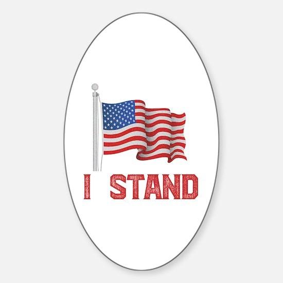 Cute Usa pride Sticker (Oval)