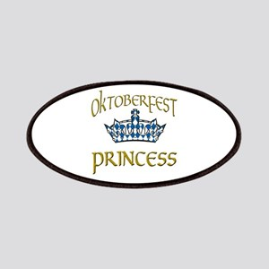 Oktoberfest Princess Crown Patches