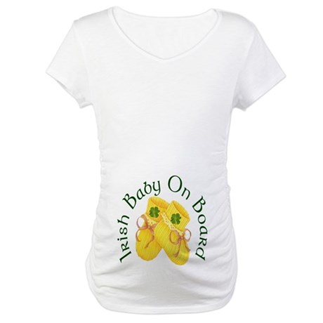 Irish Baby On Board Maternity T-Shirt