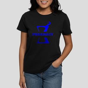 Blue Mortar and Pestle Women's Dark T-Shirt