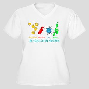 Apocalypse Women's Plus Size V-Neck T-Shirt