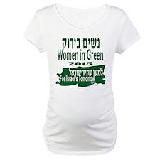 2015 Women in Green Maternity T-Shirt