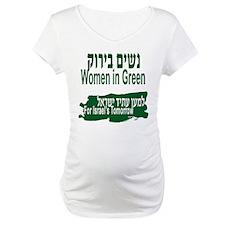 Women in Green Maternity T-Shirt