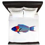Saddle Wrasse King Duvet