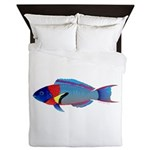 Saddle Wrasse Queen Duvet