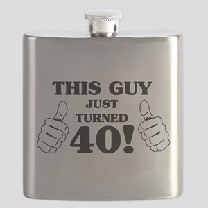 This Guy Just Turned 40! Flask