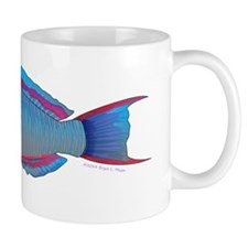 Saddle Wrasse C Mugs