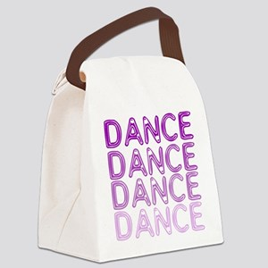 Simple Dance Canvas Lunch Bag