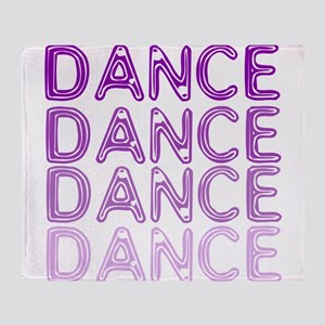 Simple Dance Throw Blanket
