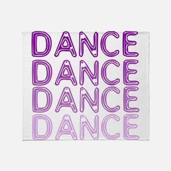 Simple Dance Throw Blanket