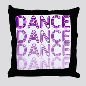 Simple Dance Throw Pillow