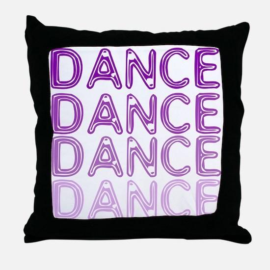 Simple Dance Throw Pillow