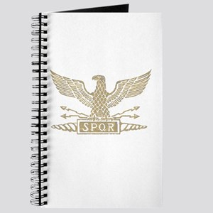 Roman Eagle Distressed Light Journal