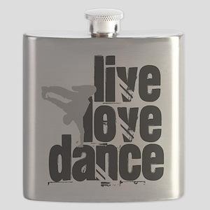 Live, Love, Dance Flask