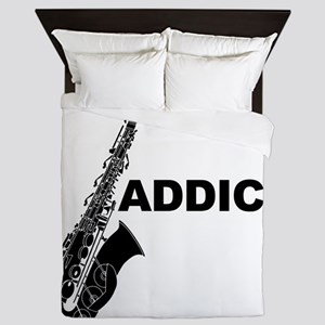Sax Addict Queen Duvet