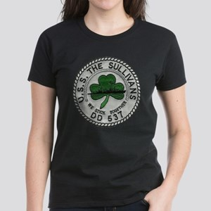 USS THE SULLIVANS Women's Dark T-Shirt
