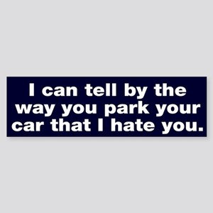 Park car Bumper Sticker