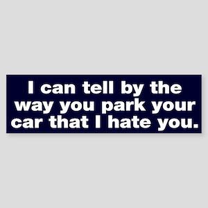 Park car Bumper Sticker