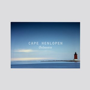 Cape Henlopen. Rectangle Magnet Magnets