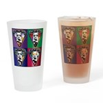 The WooFPAK 4 Peace, Love, Music Drinking Glass