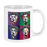 The WooFPAK 4 Peace, Love, Music Mugs