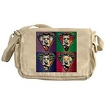 The WooFPAK 4 Peace, Love, Music Messenger Bag